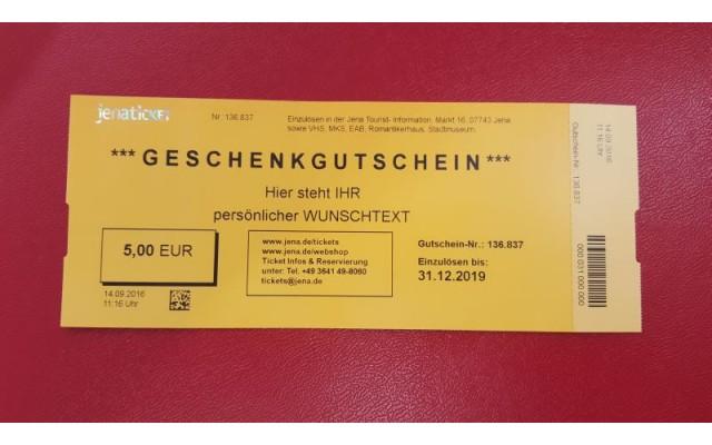 10€ Gutschein von JenaKultur
