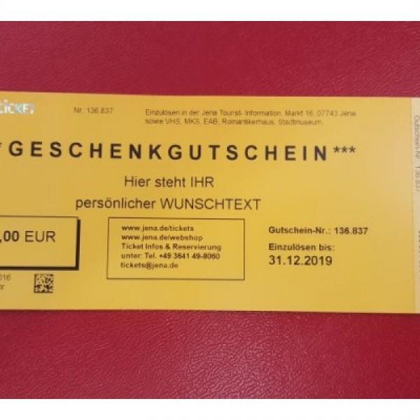 Thumbnail for 10€ Gutschein von JenaKultur